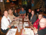 """Dinner at the Mineshaft prior to """"Away in the Basement"""" play"""